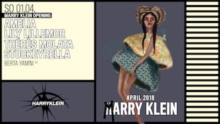 AMELIA, LILY LILLEMOR, THÉRÈS MOLATA & STUCKYRELLA @ Harry Klein   München   Bayern   Deutschland